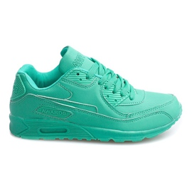 Grön Sneakers Trainers Neon LC4005 Mint