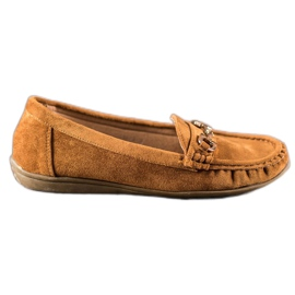 Sixth Sense Moccasins With Ornament brun