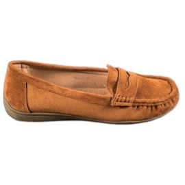 Sixth Sense Suede loafers brun