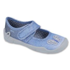Blå Befado barnskor 123X035