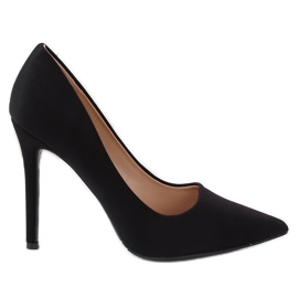 Black Pumps på en svart 4014 Black