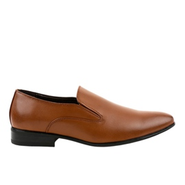 Bruna eleganta loafers 6-317