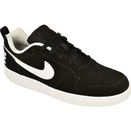 Svart Nike Sportswear Court Borough Low M 838937-010 skor