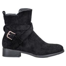 Filippo Suede Boots svart