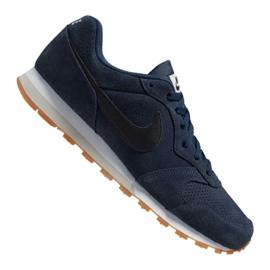 Nike Md Runner 2 Suede M AQ9211-401 skor marinblå