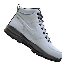 Grå Nike Manoa Leather M 454350-004 skor
