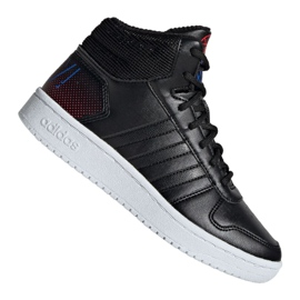 Adidas Hoops Mid 2.0 Jr EE8547 skor svart