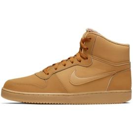 Nike Ebernon Mid Se M AQ8125-701 skor brun