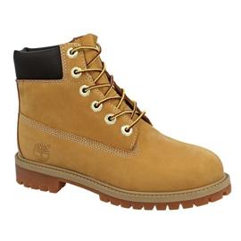 Timberland 6 i Premium Wp Boot Jr 12909 skor gul