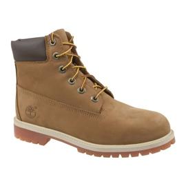 Timberland Premium 6 Inch W 14949 skor brun