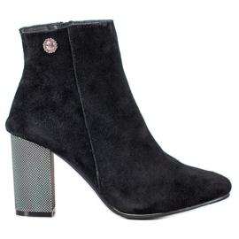 Goodin Ankelstövlar i läder svart