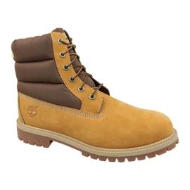 Timberland 6 I Quilit Boot Jr C1790R vinterskor brun
