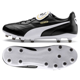 Puma King Top Fg M 105607 01 fotbollsskor svart svart