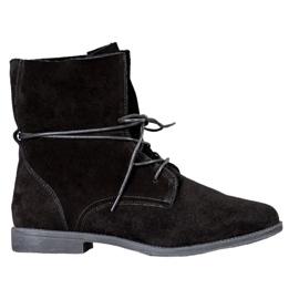 Filippo Klassiska läderskor svart