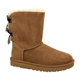 Ugg Bailey Bow Ii W 1016225-CHE skor brun