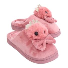 Smutsiga rosa damtofflor DD112 Pink