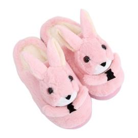 Bunnies kvinnors tofflor ljus rosa MA17 Pink
