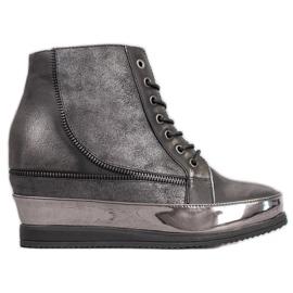 Sergio Leone Silver sneakers grå