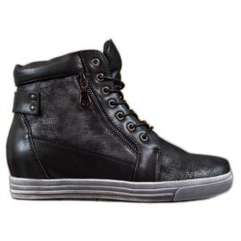 Sergio Leone Svarta Sneakers