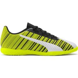 Puma One 5.4 It M 105654 04 fotbollsskor gul vit, svart, gul