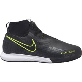 Nike Phantom Vsn Academy Df Ic Jr AO3290 007 fotbollsskor svart svart