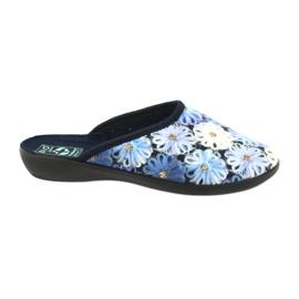 Tofflor flip flops 3D Adanex 24192 marinblå