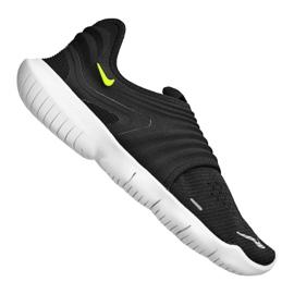 Nike Free Rn Flyknit 3.0 M AQ5707-001 löparskor svart