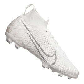 Nike Superfly 7 Elite Fg Jr AT8034-100 fotbollsskor vit vit