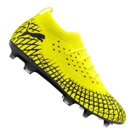 Puma Future 4.2 Netfit Fg / Ag M 105611-03 fotbollsskor gul gul