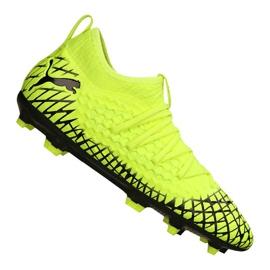 Puma Future 4.3 Netfit Fg / Ag Jr 105693-03 fotbollsskor gul gul