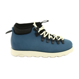 Native Fitzsimmons Citylite Trench Blue Bone White blå