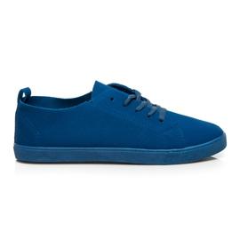 SDS Snöre sneakers blå