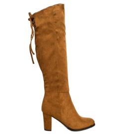 Suede Boots VINCEZA brun