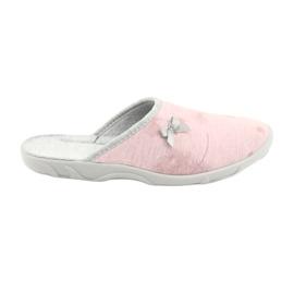 Befado färgade damskor 235D161 rosa grå