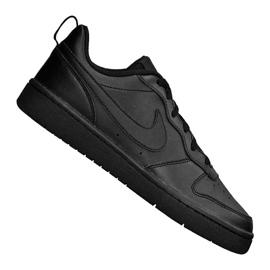 Nike Jr Court Borough Low 2 (GS) Jr BQ5448-001 skor svart