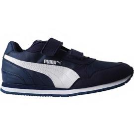 Puma St Runner v2 Nl V Ps Jr 365294 09 skor marinblå