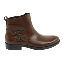 Moskała läderskor brun