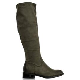 Suede Boots VINCEZA grön