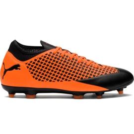 M Puma Future 2.4 Fg Ag 104839 02 fotbollsskor apelsin svart, orange