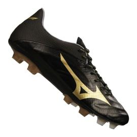 Mizuno Rebula 2 V1 fotbollsskor tillverkade i Japan Fg P1GA187-950 svart svart, guld