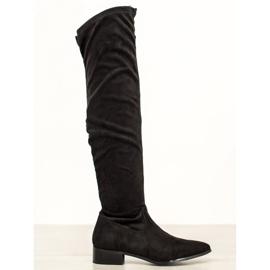 Seastar Casual stövlar över knäet svart