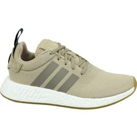 Adidas NMD R2 M BY9916 skor brun