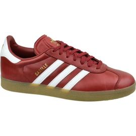 Adidas Gazelle W BZ0025 skor röd