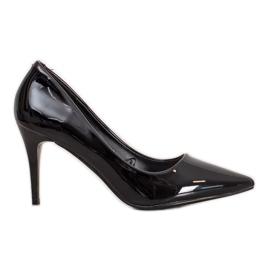 Kylie Klassiska pumpar med Eco-läder svart