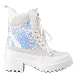 Seastar Ankelstövlar på modeplattformen vit
