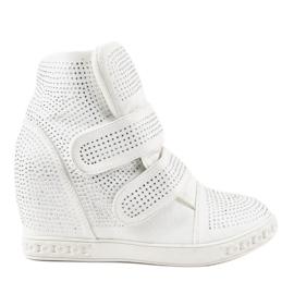 Vita kilsneakers KLS-112-3