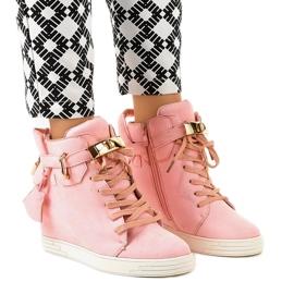 Rosa kilsneakers KLS-103-10