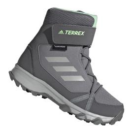 Adidas Terrex Snow Cf Cp Cw Jr G26580 skor grå