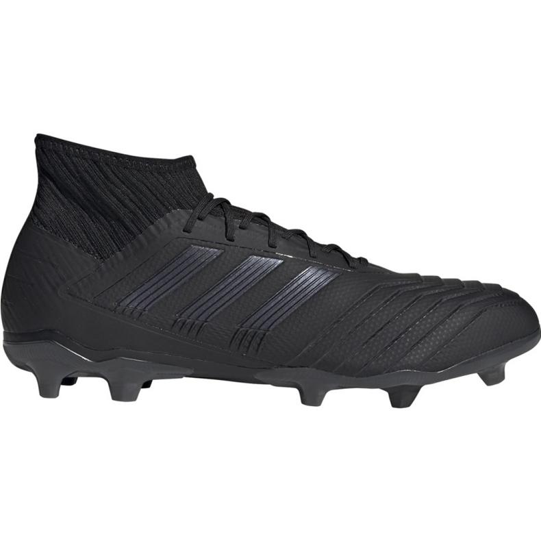 Adidas Predator 19.2 Fg M F35603 fotbollsskor svart svart