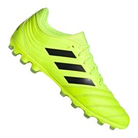 Adidas Copa 19.3 Ag Ig M EE8152 fotbollsskor gul gul